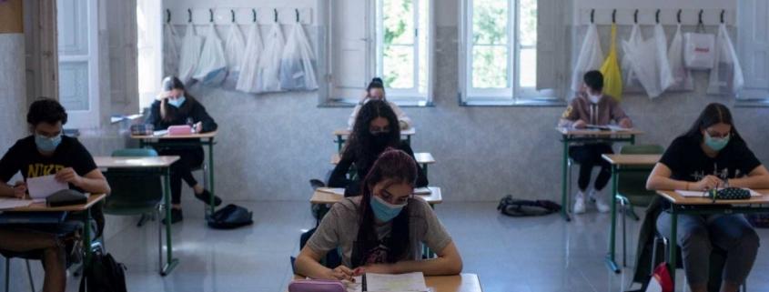 vuelta al cole en pandemia